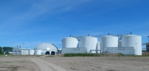 Biogas upgrading system in Anklam, Germany