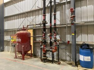 Fire protection piping